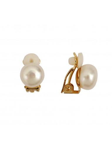 boucles d 39 oreilles clip perles de culture. Black Bedroom Furniture Sets. Home Design Ideas